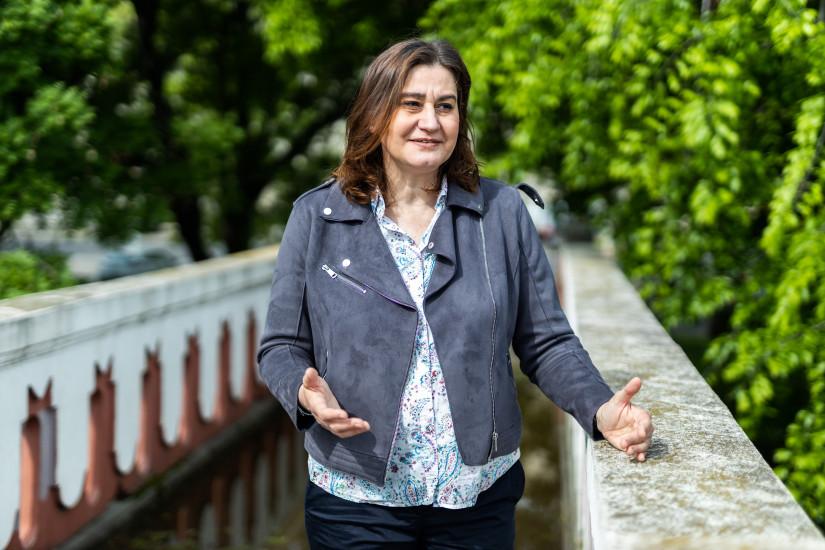 Vas Dóra, a Magyar PR szövetség etikai bizottságának elnöke