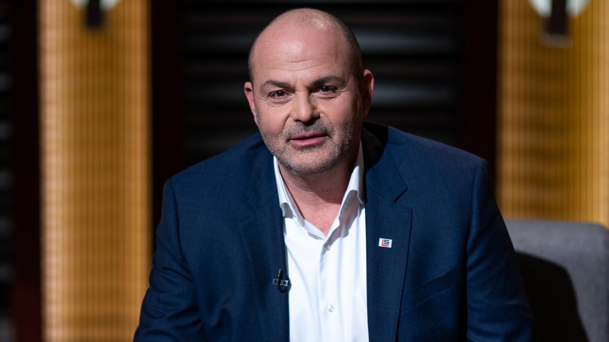Moldován György a Cápák Között című műsorban.