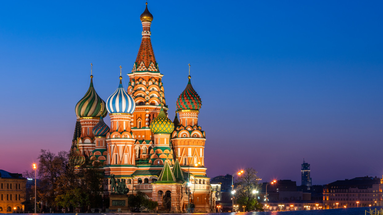 Saint Basils Cathedral, is a church in Red Square in Moscow, Russia and is regarded as a symbol of the country.