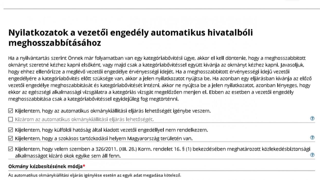 Fontos újítás a magyar jogosítványoknál: ha van Ügyfélkapud, ezt mindenképp intézd el