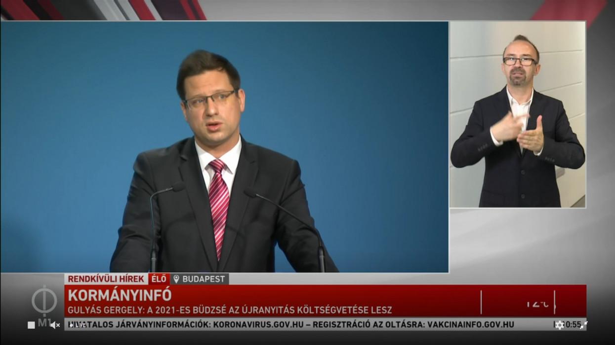 Itt a kormány bejelentése: elárulta Gulyás Gergely, mikor nyithatnak ki a teraszok