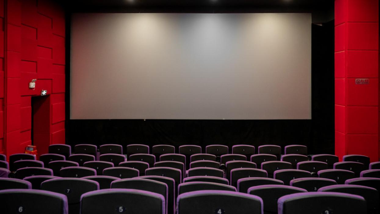 Empty Cinema with Empty seats