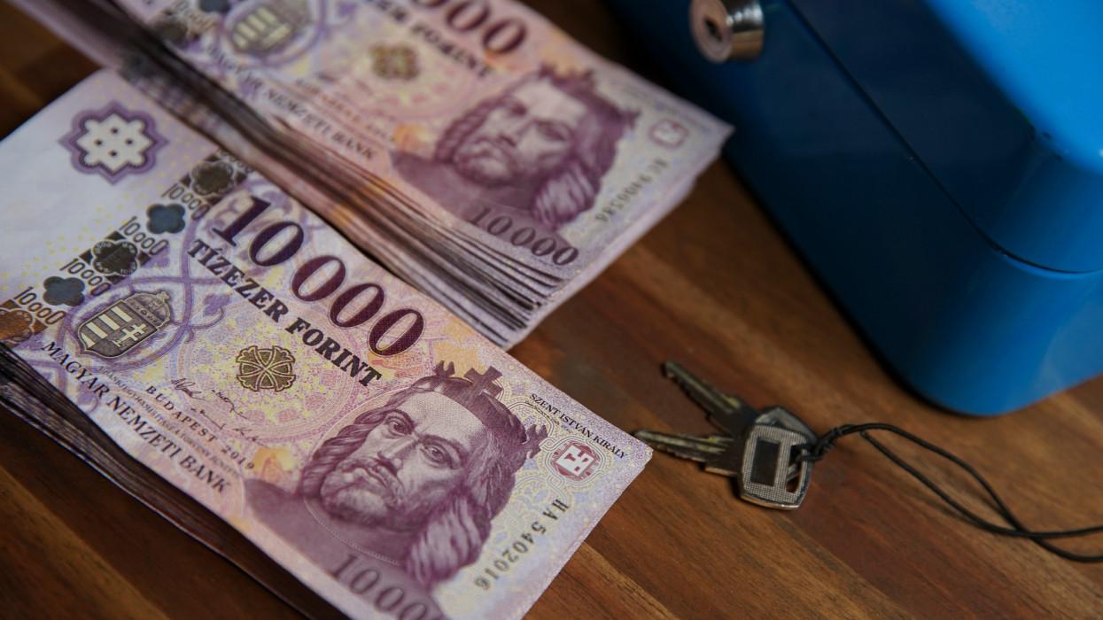 Tízezer forintos bankjegyek