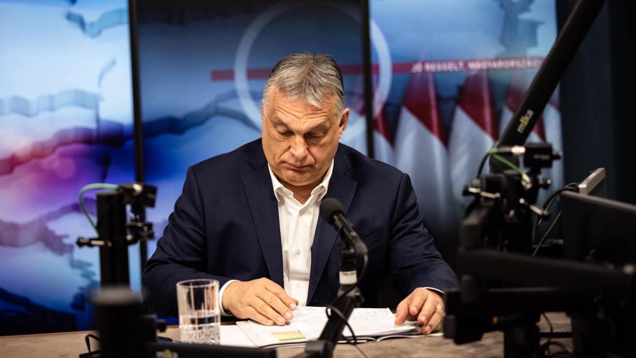 Orbán Viktor: Ma még tudunk oltani Pfizerrel, legközelebb hetek múlva lesz erre lehetőség