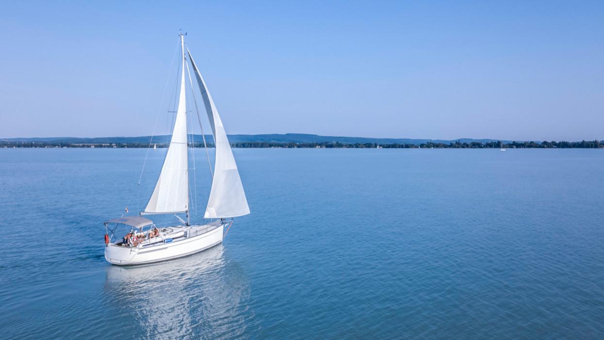 Sailboat - Balaton lake - Hungary