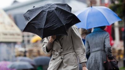 8 megyére adott ki elsőfokú figyelmeztetést az OMSZ: zivatarok, erős szél várható