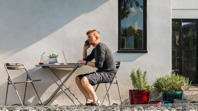 Nesze neked home office: arcpirítóan kevés magyar dolgozhatott otthonról tavaly