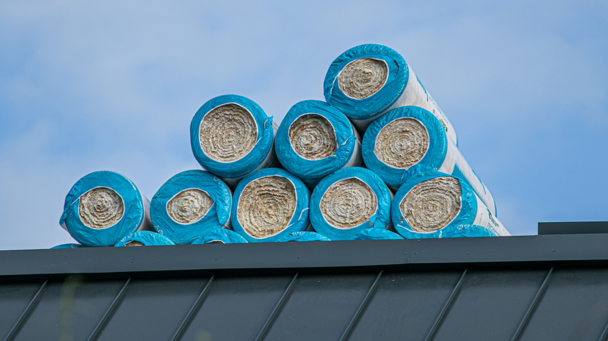 Rolls of Loft Insulation