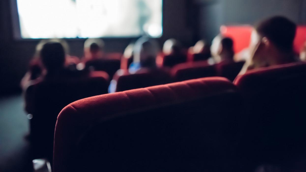 Small movie theater