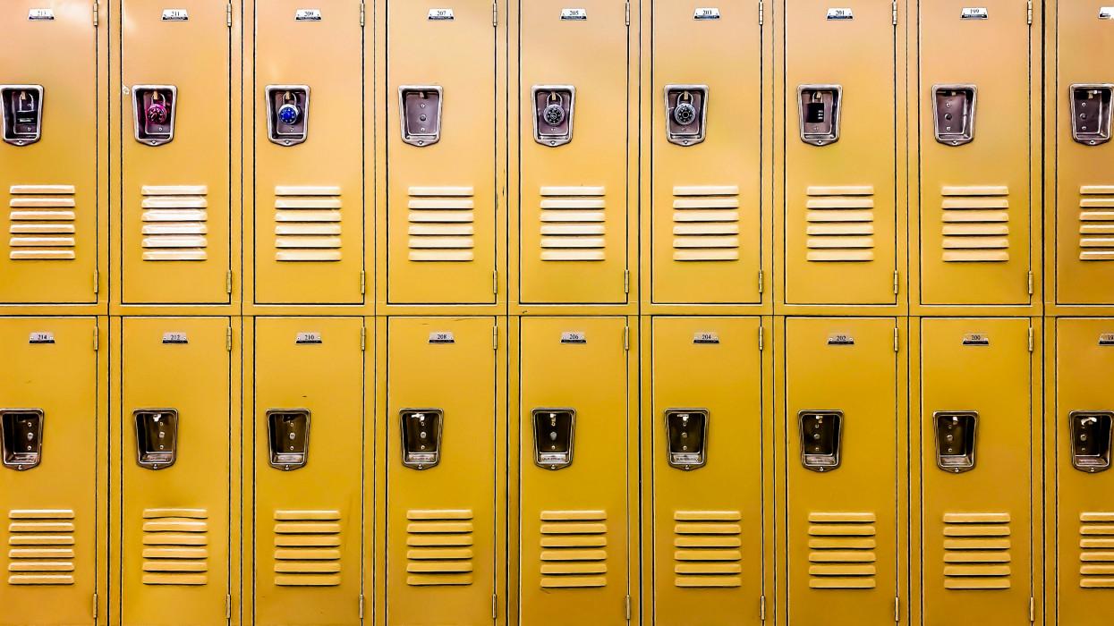 generic student school lockers
