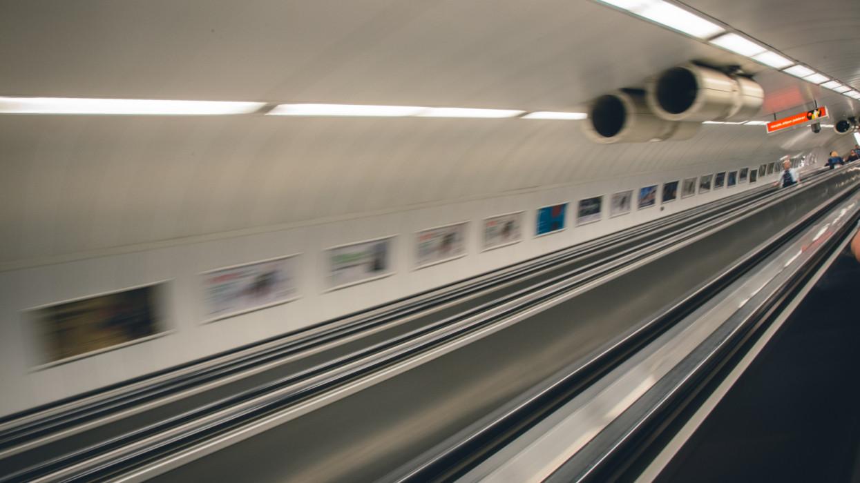 Underground transport in Budapest, Hungary