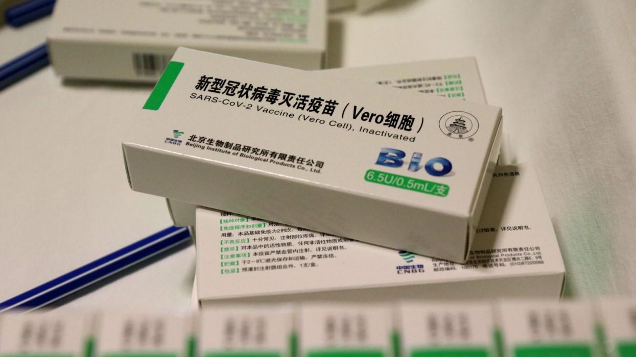 Hajdúböszörmény, 2021. augusztus 13.A kínai Sinopharm koronavírus elleni vakcinái az oltás napján a hajdúböszörményi Fazekas Gábor Idõsek Otthonában 2021. augusztus 13-án.MTI/Vajda János