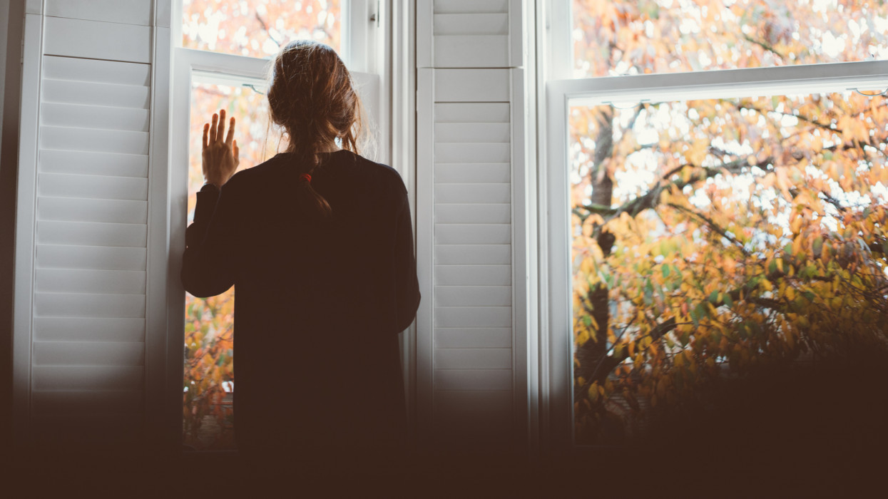 A woman with her hand on the glass, waving. Social distancing or physical distancing is a set of nonpharmaceutical infection control actions intended to stop or slow down the spread of a contagious disease. Strict new curbs on life in the UK to tackle the spread of coronavirus.