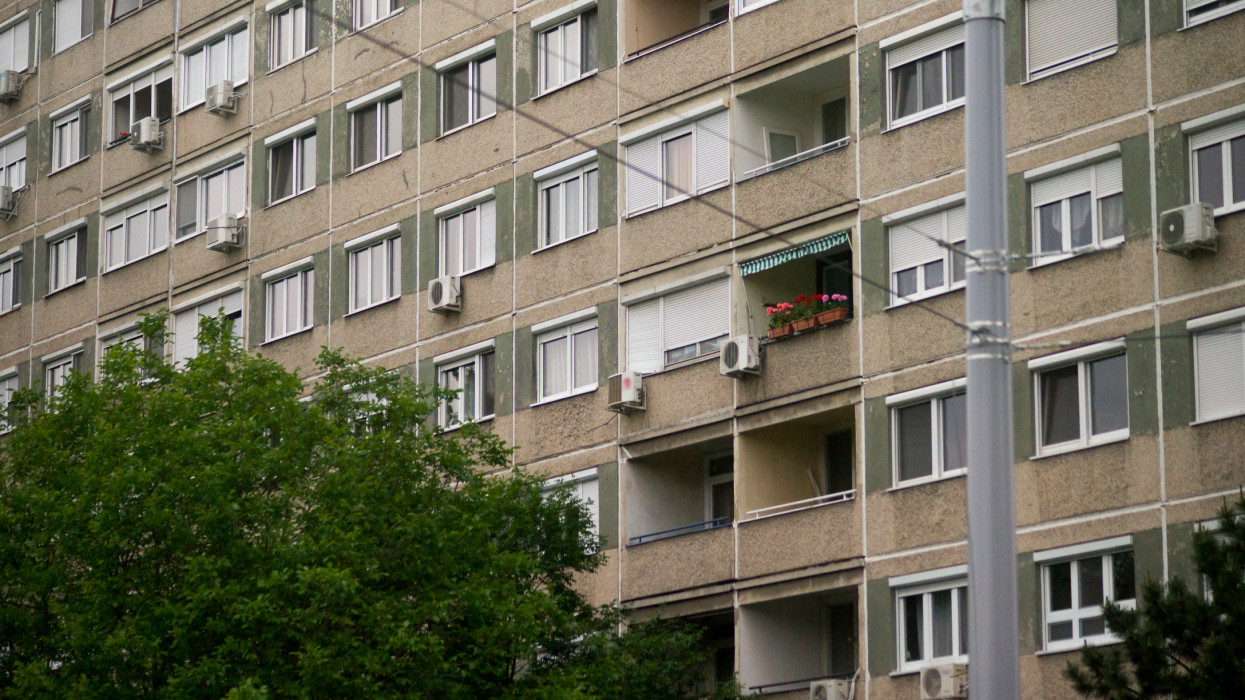 Apartment Building Or Block Of Flats - Budapest, Hungary