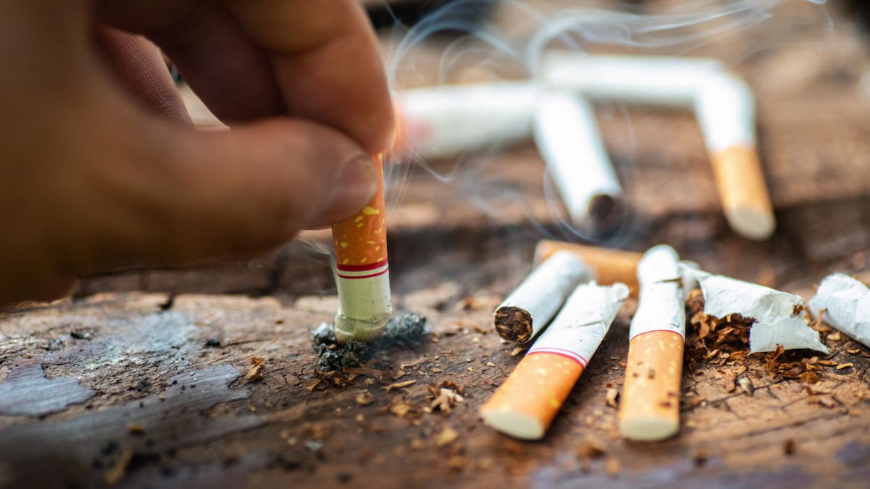 stop smoking concept.