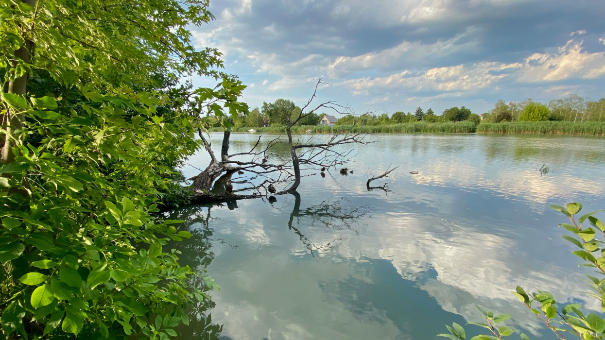 Duna river, Szigetszentmiklós, Hungary